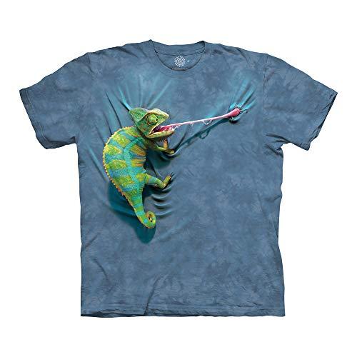 The Mountain Unisex-Adult's Climbing Chameleon, Blue, Medium