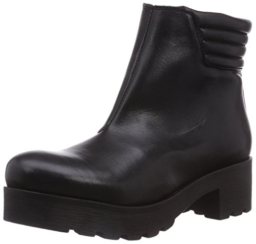 SHOOT Damen SH15319 Biker Boots, Schwarz (Black Outsole Black), 42 EU