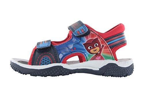 P J Masks Blue Petacas Sports Sandals UK 6