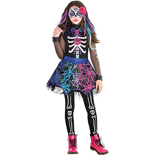 Stunning Girls Day of The Dead Costume