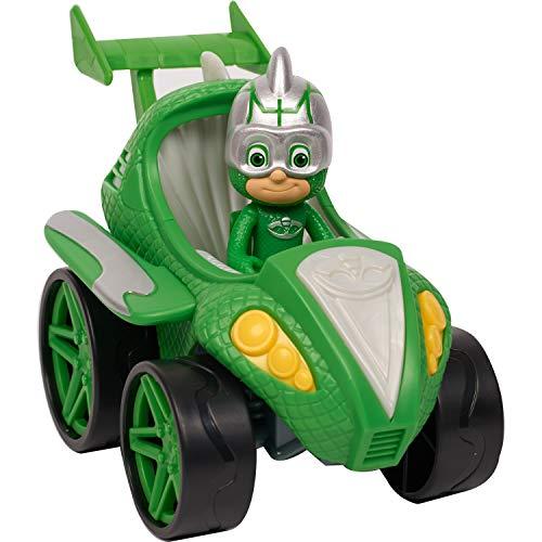 PJ Masks Power Racers Gekko, Grün
