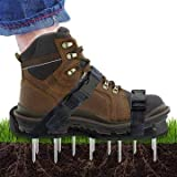 Scuddles Lawn Aerator Shoes, 1, Black