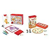 Osmo - Creative Starter Kit for iPad (Ages 5-10) + Pizza Co. Game Bundle (Ages 5-12) iPad Base Included