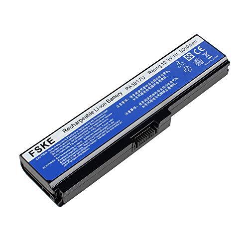 FSKE PA3817U-1BRS PABAS228 PA3817U-1BAS PA3819U-1BRS Akku für Toshiba Satellite L750 L750D C660 C660D L670 L670D L755 L755D L650 L650D C670 C670D C650D Notebook Battery, 10.8V 5000mah 6-Zellen