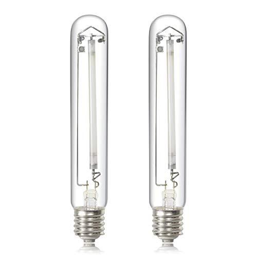 iPower GLBULBH400X2 400 Watt High Pressure Sodium Super Grow Light Lamp Full Spectrum hps Bulb, 400W, white