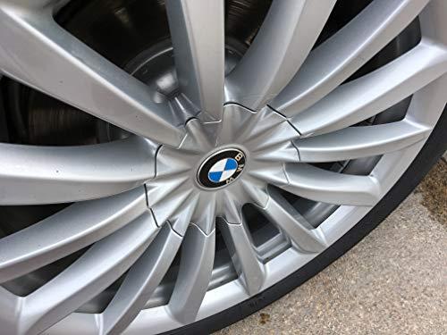 Lhfacc Replacement Matte Black Wheel Center Hub Cap Cover Emblem Badge