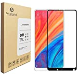 [2 Pack] Ytaland For Xiaomi Mi Mix 2 / 2s Tempered Glass Screen protector, Full Glue, Full Covered, Anti-fingerprints, Bubble free Screen Protector For Xiaomi Mi Mix 2 / 2s Black Colour