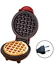 Mini wafelijzer machine pancake maker elektrische cake fabrikant voor pannenkoeken koekjes, antiaanbaklaag, 350W