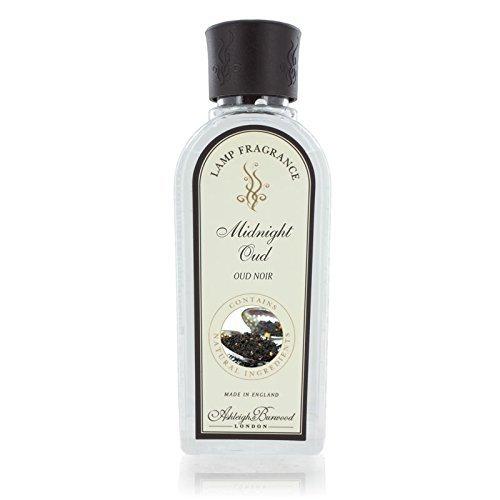 Ashleigh & Burwood Fragrance Lamp Oil - 500ml - MIDNIGHT OUD - Safe Flameless Home Scenting.