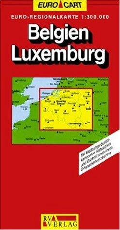EUROMAP BELGIE LUXEMBURG 1 1300000