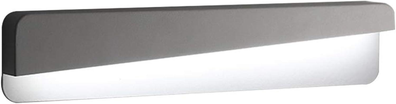 LYP-Wandlampe Badezimmer Spiegel vorne Scheinwerfer Spiegel Scheinwerfer Wasserdicht Anti-Nebel-Make-up Spiegel Schrank Beleuchtung weies Licht Eisen + Acryl - Nein mit Schalter (wei) Bad
