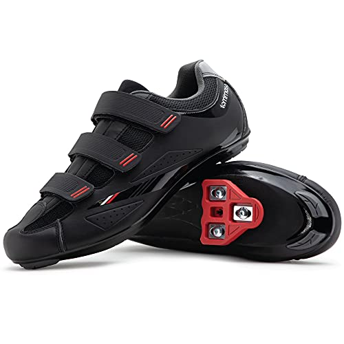 Tommaso Strada 100 Dual Cleat Compatible Indoor Cycling Class Ready Bike Shoe - Look Delta - 41