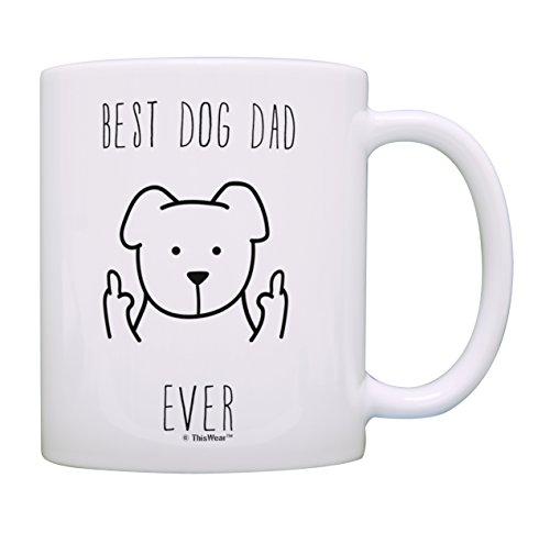 Best Dog Dad Ever Coffee Mug Tea Cup Dog Dad