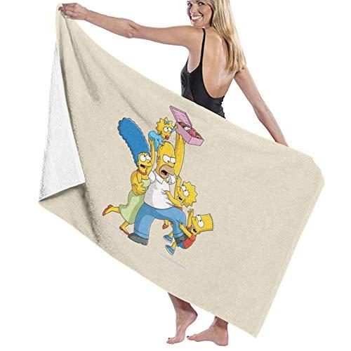 U/K Simpsons - Toalla de baño familiar de secado rápido