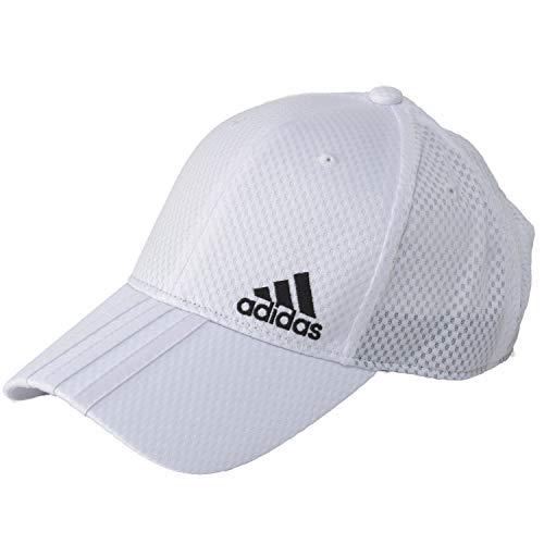 アディダス(adidas) 大きいサイズ 機能素材 帽子 キャップ ビックサイズ ゴルフ メッシュキャップ スポーツ アスリート (06 ホワイト)