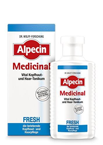 Alpecin Medicinal FRESH Haarwasser, 2 x 200 ml - belebende Kopfhaut- und Haarpflege