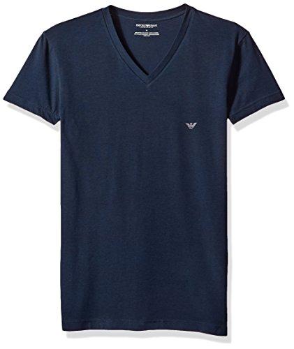 Emporio Armani heren The Big Eagle Vneck T-shirt thermisch ondergoed Top