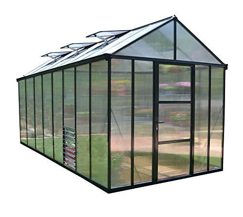 Palram Glory 48 Aluminium Greenhouse / Garden House / Greenhouse / Tomato House / Cultivation
