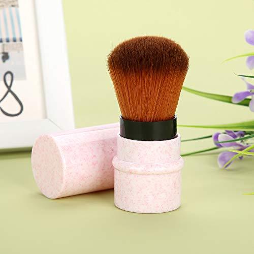Cepillo cosmético del maquillaje del veteado del cepillo, cepillo corto del polvo,...