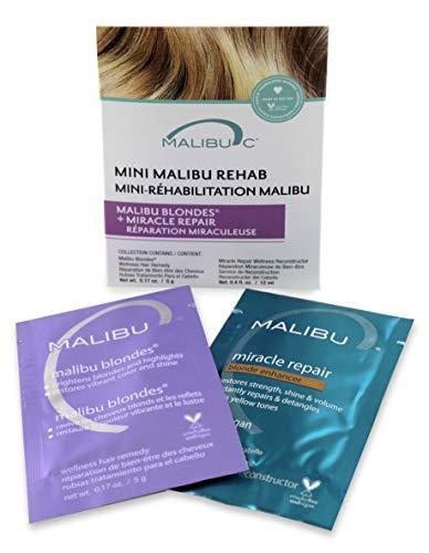 Malibu C Mini Malibu Rehab Malibu Blondes and Miracle Repair Set