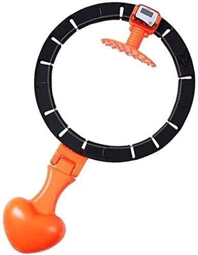 Beautiful hula hoop Hoop para adultos Tinta Fitness Hula Hoop con bola de inercia Bucle inteligente Count Loop con ajustable adelgazamiento Ejercicio Hombres y mujeres Slim Cintura y Pérdida de peso d