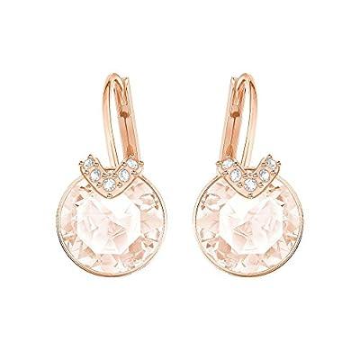 Swarovski Bella Pierced Earrings Pink One Size