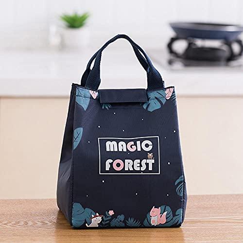 Bolso de moda lindo animales de dibujos animados bolsas más frías para mujeres paquete de mano impermeable caja de desayuno térmica portátil Picnic Travel-hulitu