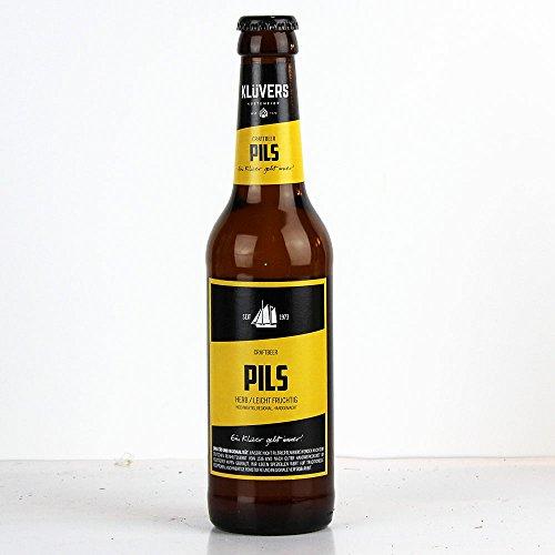 Klüvers - Pils Bier 4,8% Vol. - 0,33l inkl. Pfand
