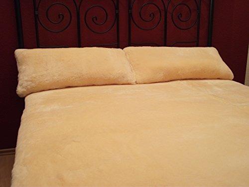 Wundervolles Qualitäts Wärmeunterbett, 100% echtes, gewachsenes Lammfell als Unterbett, Bettfell, in vielen Maßen. Die natürliche Klimaanlage als hochwertige Bettauflage