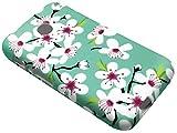 For TracFone Alcatel Pixi Unite A466BG Soft Flexi TPU Skin Protective Case Phone Cover + Gift Stand (TPU Cherry Blossom)