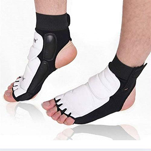 YCRCTC Outdoor-Sport-Socken MTB Cyling Boxen Socken 1PAIR Knöchel-Klammer-Stützauflage Schutz Fuß Handschuhe Schutz Muay Thai/Boxen (Color : As Show, Size : S)