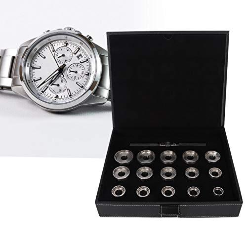 Guarda Back Case Opener con 15 diversi tipi di stampi per un uso prolungato, per orologiai