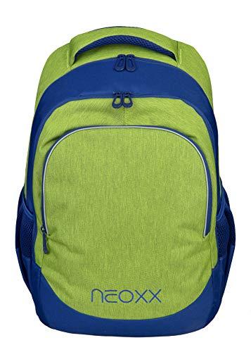 neoxx Fly Schulrucksack - Rucksack für die Schule, Leichter Schulranzen aus recycelten PET-Flaschen, Schultasche für Mädchen und Jungen
