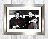 Engravia Digital Poster John Lennon & Paul McCartney The