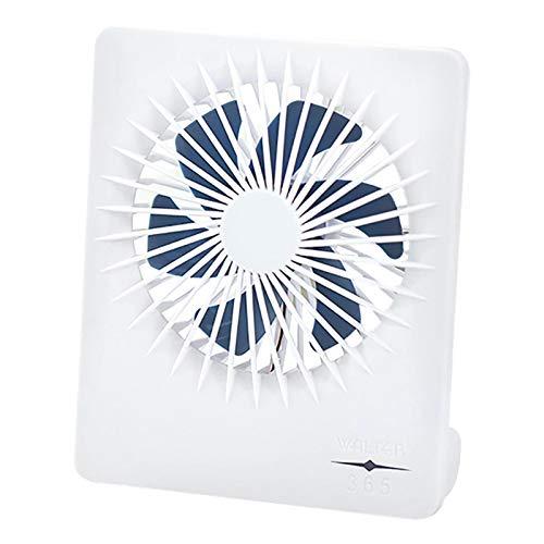 Ultra-thin Desktop Mini Fan, 3 Speed Control Quiet Table Fan For Office Home, Small Personal USB Powered Desk Fan, Lightweight Portable Fan, Mini Cooling Fan, Perfect For Travel Or Desktop Use