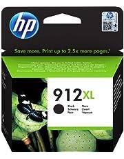 HP 912XL Inktcartridge Zwart, Hoge Capaciteit (3YL84AE) origineel van HP