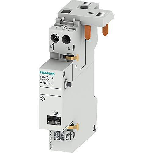SIEMENS 5SM6011-2 Brandschutzschalter-Block AFDD 1-16A 230V