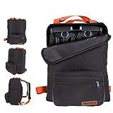 ZOEA Lightweight Stroller Travel Bag, Compatible with Gb Pockit Stroller and Gb Pockit Plus Lightweight Stroller (Orange)