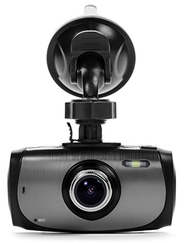 "Black Box G1W-X Dashboard Dash Cam - Ultra Wide 170° 4X Zoom 6G Glass Lens - Full HD 1080P 2.7"" LCD Car DVR Camera Video Recorder with Parking Mode G-Sensor WDR Night Vision Motion Detection"