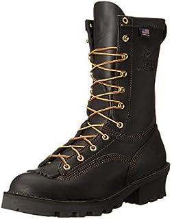 حذاء عمل جلدي بالكامل من Danner للرجال بمقاس 25.4 سم