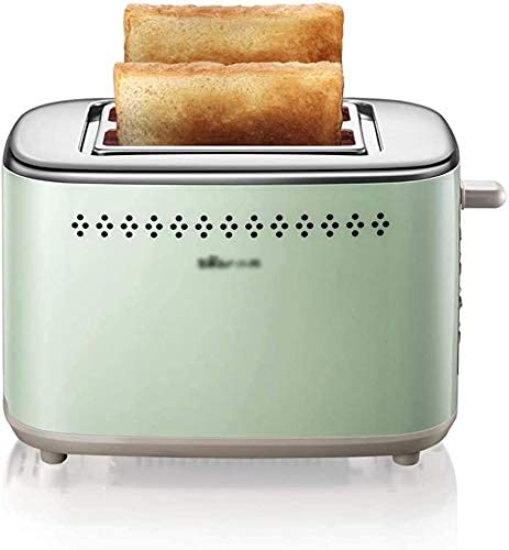 N/Z Home Equipment Toaster 2 Slice Wide Slots Stainless Steel Toaster 7 Shade Settings Removable Crumb Tray Defrost/Reheat/Cancel Function Compact 2 Slice Toaster For Bread/Bagel/Waffle/Muffin