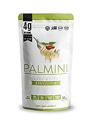 Hearts of Palm Pasta 4g of carbs, 20 calories, No Sugar and Gluten Free! Kosher | Non GMO Verified | Vegan | Gluten Free