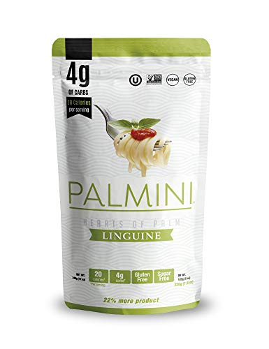 Palmini Low Carb Linguine | 4g of Carbs | As Seen On Shark Tank | 12 Oz. Pouch (1 Unit)