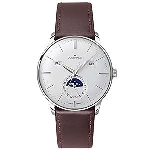 Junghans Watch - Meister Calendar - Silver/Brown image