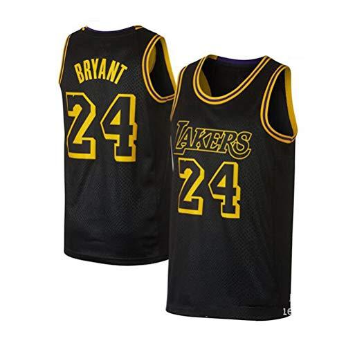 2019 Trikot Herren Sport Jersey Lakers #24 Kobe Bryant Basketball Anzug Basketball-Bekleidungssets Für Herren Tops Weste Für Basketballfans (S - XXL)