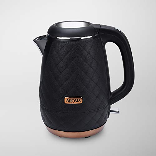 Aroma 1.2L Designer Kettle - Black