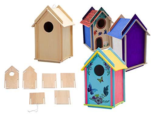 Avantgarde - Vogelhaus Bausatz Stecksystem (1 Vogelhaus)