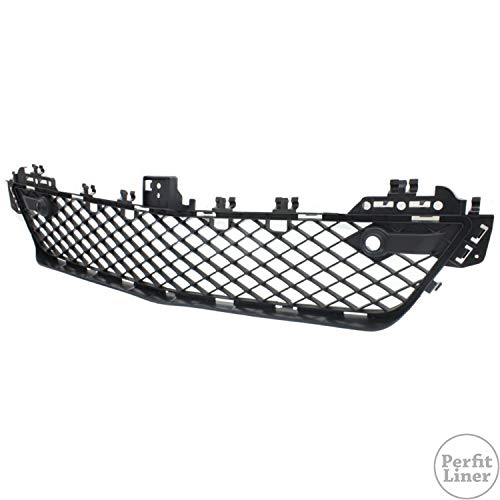 Perfit Liner New Replacement Parts Front Black Bumper Grille W/O Sensor Hole Compatible With MERCEDES Benz W204 C Class Coupe Sedan C250 C300 C350 Fits MB1036119 2048851324