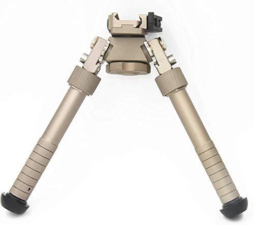 Tactical Area V8 Gewehr Zweibein kann 360 Grad gekippt Werden, M-LOK Zweibein 6,5-9 Zoll Picatinny Schiene Klappstativ einstellbar