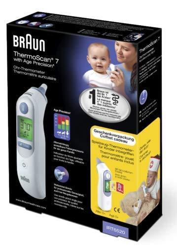Preisvergleich Produktbild Braun ThermoScan 7 Ohr-Thermometer Geschenkset,  1 St